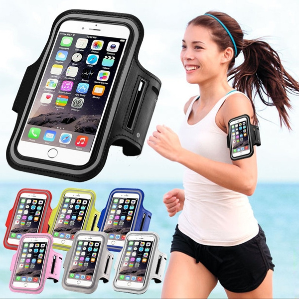 Sports Armband Gym Running Jog Case Arm Holder for iPhone 6 Samsung Galaxy S4 S3