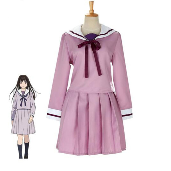 Noragami Hiyori Iki School Uniform Cosplay Costume