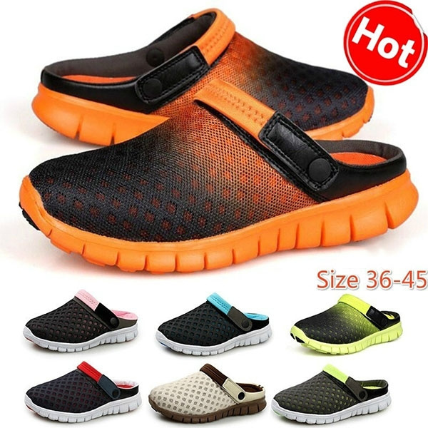 ffed394d607acd 2018 summer tennis shoes male ventilative sandals trend of men's casual  shoes slippers   Wish