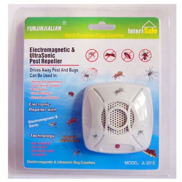 Electronic Pest Repeller Ultrasonic rodent control rat insecticide flooding  bat bat ant pest deratization and mouse