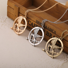 Necklace, Chain Necklace, thehungergame, Jewelry