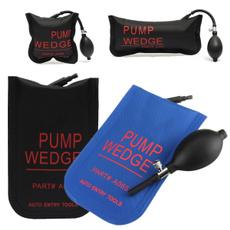 Klom Locksmith Auto Entry Tools Long Air Bag Wedge Pump PVC Doors Windows & Cars Vices Lock Pick Black