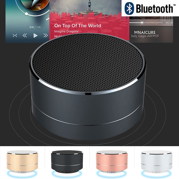 Picture of Mini Wireless Bluetooth Speaker Super Stereo Audio Receiver Subwoofer With Fm Radio Tf Card Handsfree For Phone