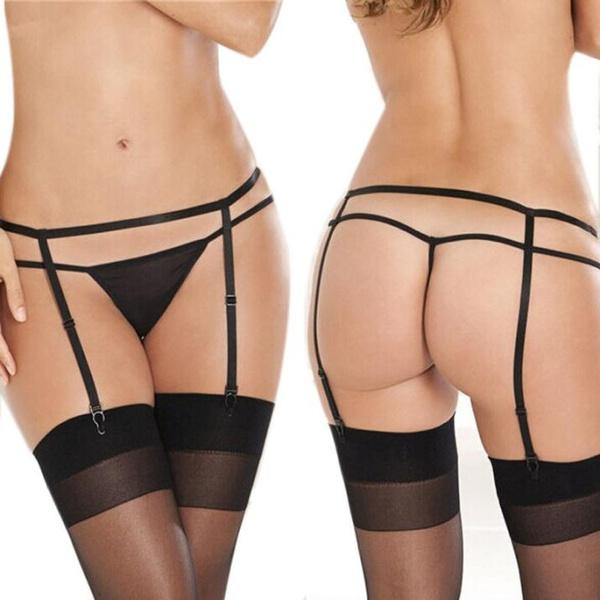 Ladysuspender presents ladies in sexy hot girdle