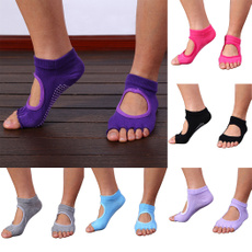 Five Toes Exercise Yoga Anti-slip Pilates Socks 6 Colors