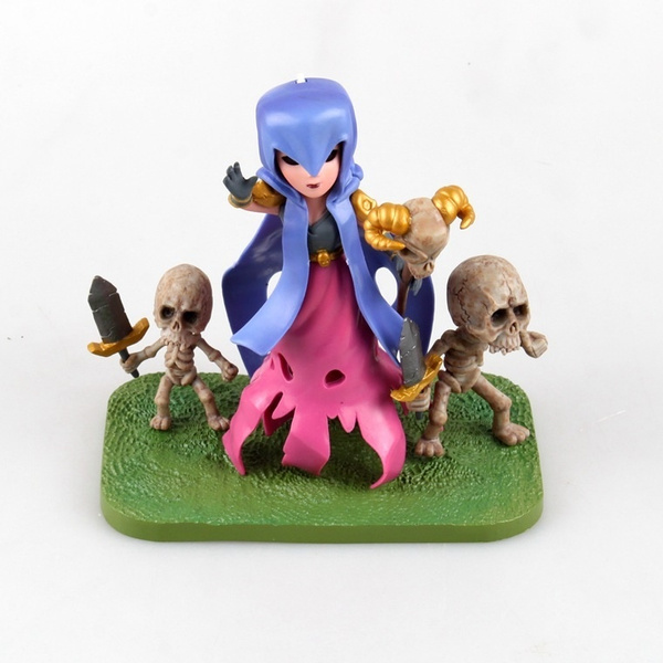 Games Figurine Tribal Conflicts / War COC Witch PVC Action Figure PEKKA  Apple Andrews Game Figure Model Toys