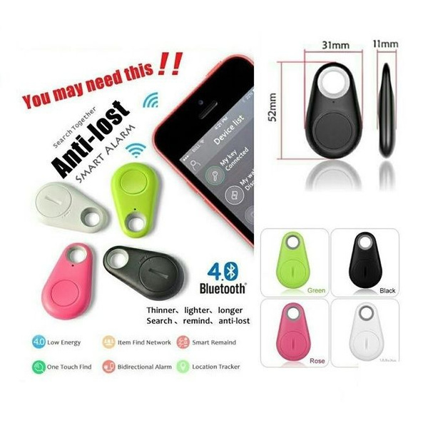 Smart Wireless Bluetooth 4.0 Anti Lost Tracker Alarm Key Finder GPS Locator Box