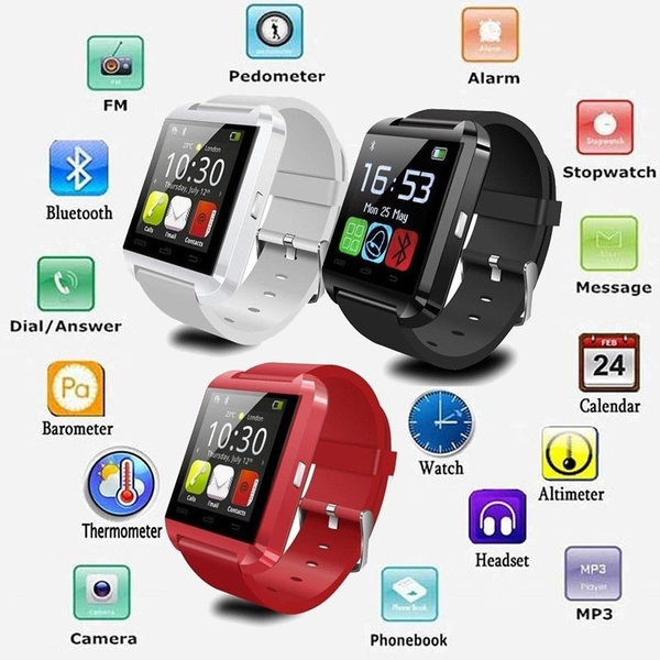 Picture of New U8 Bluetooth Smart Watch Phone Mate For Smart Phones
