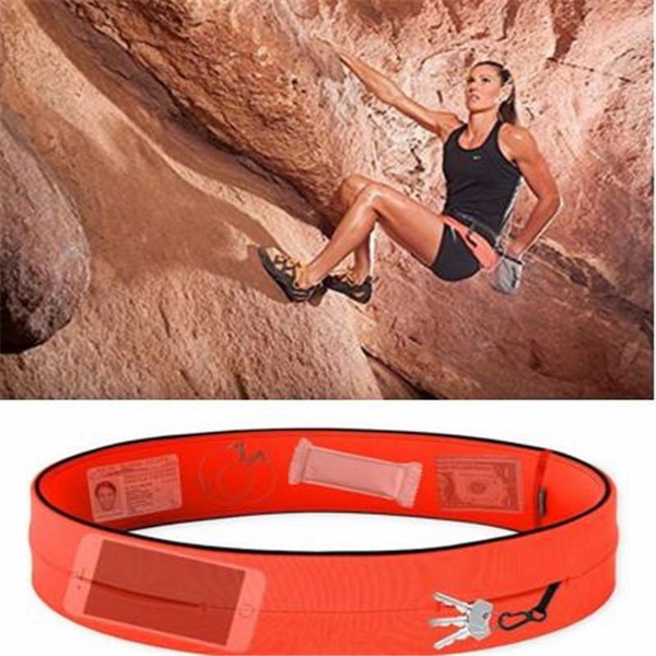 New Fashion Unisex Waist Bag Polyester Cycling Jogging Sport Fanny Pack Running Belt for Mobile Phones