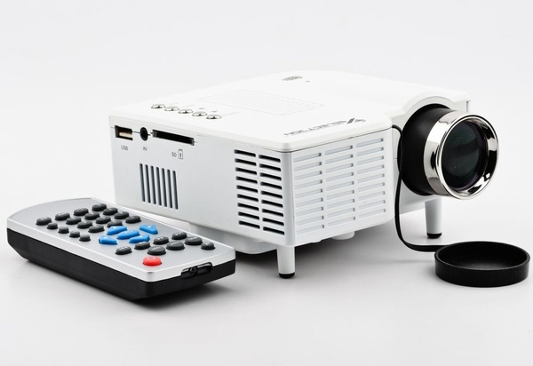 Picture of Uc28+ 1080p Mini Projector Support Av/ Usb/ Sd Card/ Vga/ Hdmi
