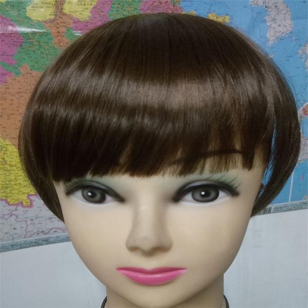 Wish Women Beauty Neat Fringe Straight Bangs Clip On Hair