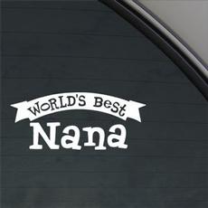 Blues, nana, Cars, Stickers