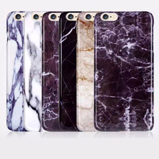 Marble Granite Style Case Cover For iPhone 5 5S 6 6S Plus