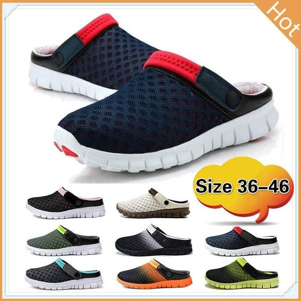 255a345001cecf 2018 summer tennis shoes male ventilative sandals trend of men's ...