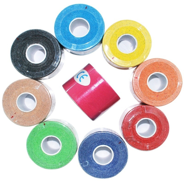 Kinesiology Muscle Tape Sports Athletic Elastic Physio Therapeutic (Size:5cmX5m)