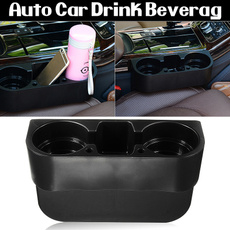 Universal Car Truck Drink Holder Cup Stands Seat Side Swivel Mount Holders Coffee Bottle Table Stand Food Rack Tray
