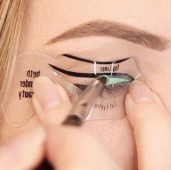 Diy Cat Eyeliner Stencil Diy Campbellandkellarteam