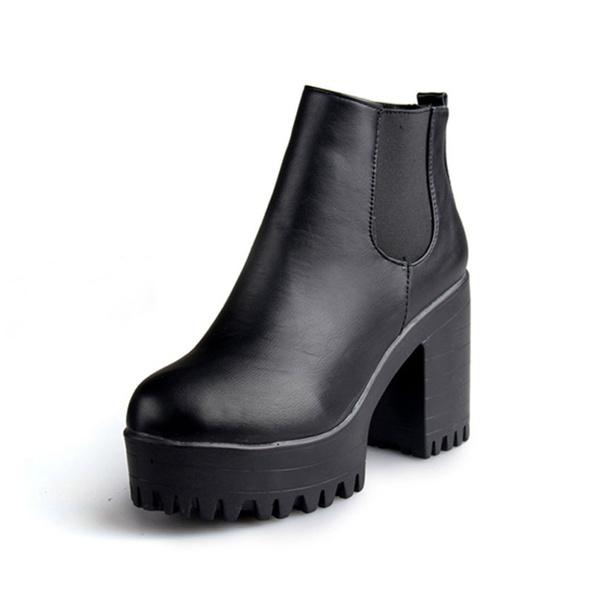 Zapatos Mujer 2015 Invierno Plataforma Botas Otras Marcas