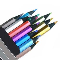 pencil, Drawing & Painting Supplies, sketching, Metallic