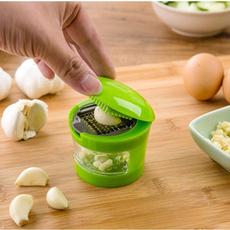 Practical Home Kitchen Tool Kit Garlic Press Chopper Slicer Hand Presser Garlic Grinder