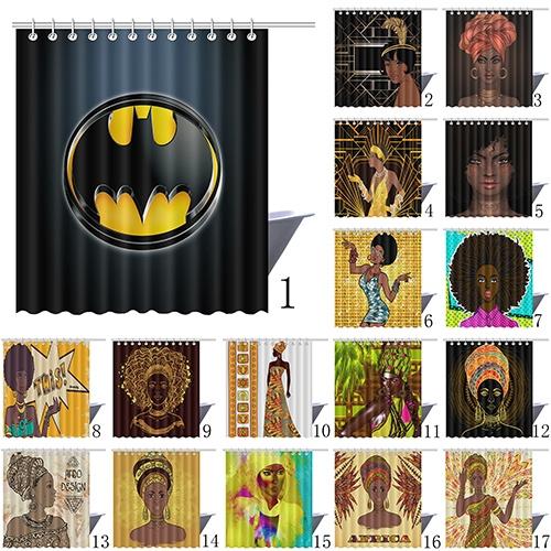 Wish | batman shower curtain
