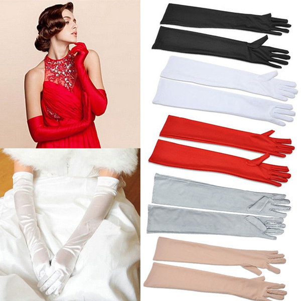 Fashion Sun-proof Women Bridal Evening Party Prom Driving Costume Lace Gloves