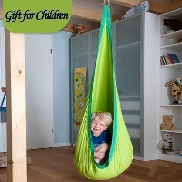 Groovy Baby Swing Children Hammock Chair Kids Swing Chair Indoor Outdoor Hanging Chair Child Swing Seat Pabps2019 Chair Design Images Pabps2019Com