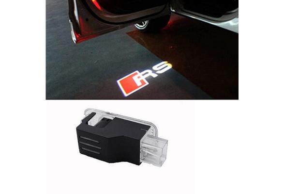 Travay Car Door Lights Logo Projector Universal Wireless Car Door Led Projector Lights Compatible with Some Years Audi for A3 A4 A5 A6 A7 A8 Q3 Q7 R8 RS S-Series TT and Other Model 4 pcs