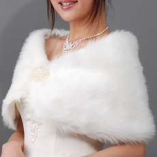 laceshawl, Fashion, fur, pearls