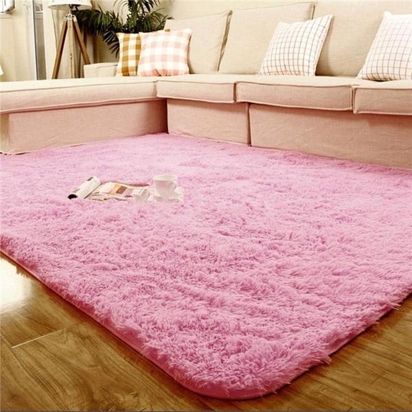 Wish | 80x160 Cm Fashion High Quality Plush Shaggy Soft Carpet Area ...