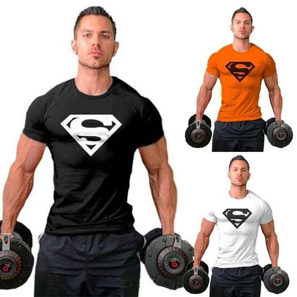 topsamptee, cotoontshirt, gymtshirtmen, Athletics