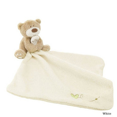 Infant Reassure Towel Newborn Bear Blankie Development Baby Toys Newborn Appease Towel Plush Toy Gifs