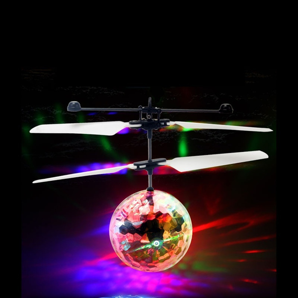 7 Colour Induction Flash Aircraft (Color: White)