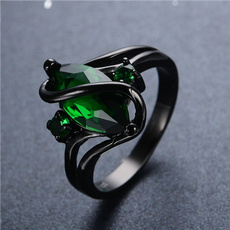 blackgoldring, blackgoldfilled, Women Ring, gold