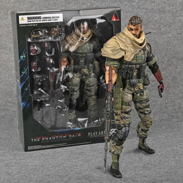 Play Arts Kai Metal Gear Solid V The Phantom Pain Venom Snake PVC Action Figure
