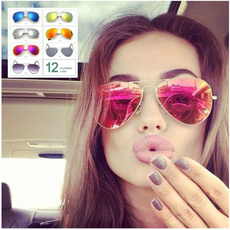 Men / Women Driveing Mirror Eyewear  Sun glasses Points Sunglasses