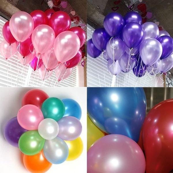 100PCS PEARL乳胶气球PARTY婚宴生日装饰10寸新品