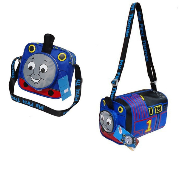 Wish Boys Cross Body Bags Thomas Train Bag Waterproof Kids Pillow Message Cartoon Handbags Famous Brand Catamite School