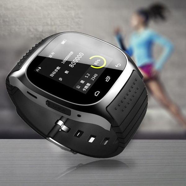 Picture of Unisex M26 Smart Wrist Bluetooth Watch Phone For Ios Android Phone Support Ios Bluetooth Connect . Do Not Support Data Synchronization With Ios System