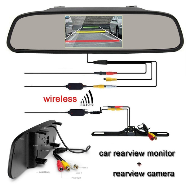 Tft mirror backup camera wiring diagram diy wiring diagrams wish 4 3 inch car tft lcd monitor mirror wireless reverse car rh wish com wireless backup camera wiring diagram pyle rear view camera wiring diagram asfbconference2016 Gallery