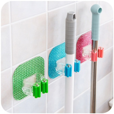 Newest Creative Home Furnishing Mop Hook Stores Daily Necessities of Daily Life Tools Multi-functional Seamless Mop Hooks