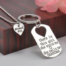 Heart, Chain Necklace, Fashion, Love
