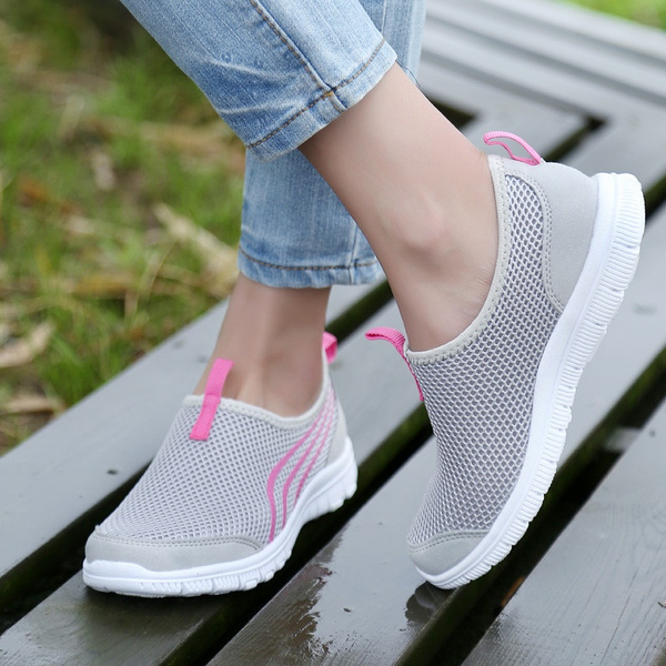 Picture of Summer Women Girl Breathable Walking Sports Fashion Running Sneakers Shoes