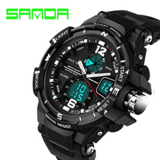 New Brand SANDA Fashion Watch Men G Style Waterproof Sports Military Watches Shock Men's Luxury Analog Quartz Digital Watch