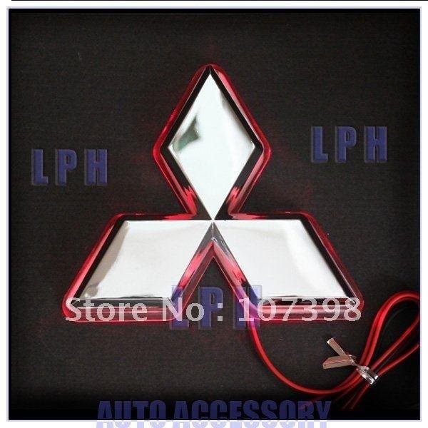 option one,car logo light for Mitsubishi Lancer/Lioncei,car badge  lightings,auto led light,auto emblem led lamp@LSS