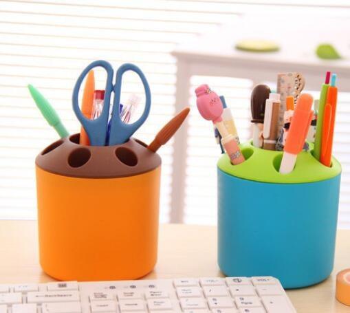 Special Porous Couple Creative Toothbrush Holder Toothpaste Mouthwash Multi-function Desktop Pen Holder Rack Storage