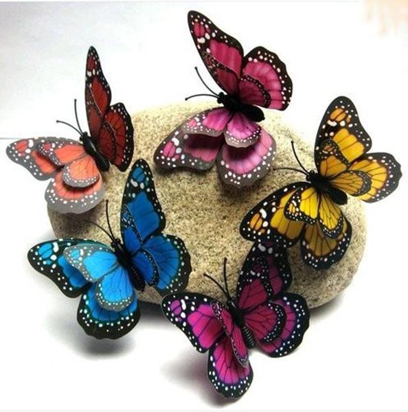 butterfly, 3dwallstickersforkidsroom, Home Decor, Home & Kitchen