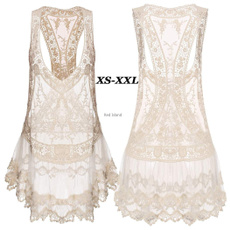 Women's Fashion, Summer, Lace, beach dress