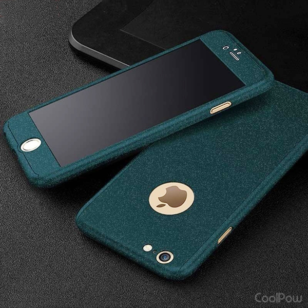 Picture of Newest Fashion 360 3in1 All-protector Tempered Glass Frosting Case For For All Kinds Of Smart Phone