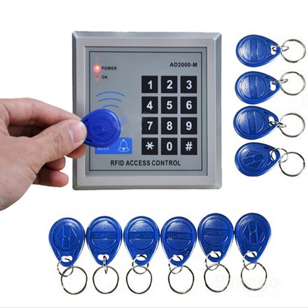Picture of Hot Sell 1set Rfid Proximity Door Control System Access Control System Security And Perfect For Homes And Offices With 10 Keys Color Silver